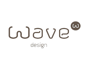 Wave Logo Wit